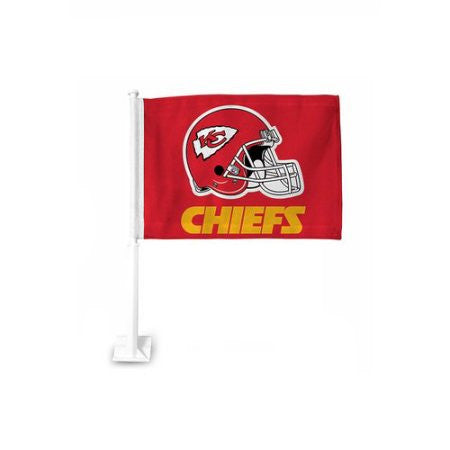 Kansas City Chiefs NFL Car Flag - Sports Nut Emporium