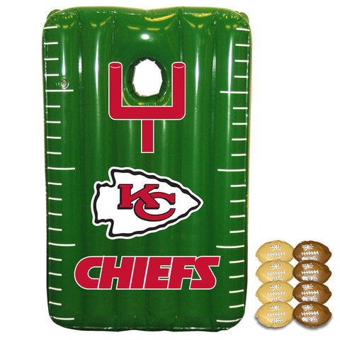 Kansas City Chiefs Inflateable Toss Game - Sports Nut Emporium
