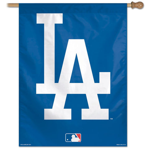 Los Angeles Dodgers Logo Vertical Flag - Sports Nut Emporium