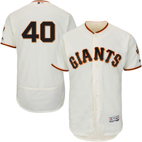 Madison Bumgarner San Fransisco Giants Cool BAse off White jersey - Sports Nut Emporium
