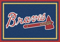 "Atlanta Braves 24x36""  mat - Sports Nut Emporium"