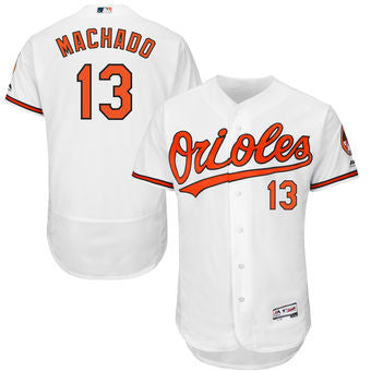 Manny Machado Baltimore Orioles  Mens White jersey - Sports Nut Emporium