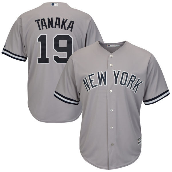 Marahiro Tanaka New York Yankees Grey Road Jersey - Sports Nut Emporium