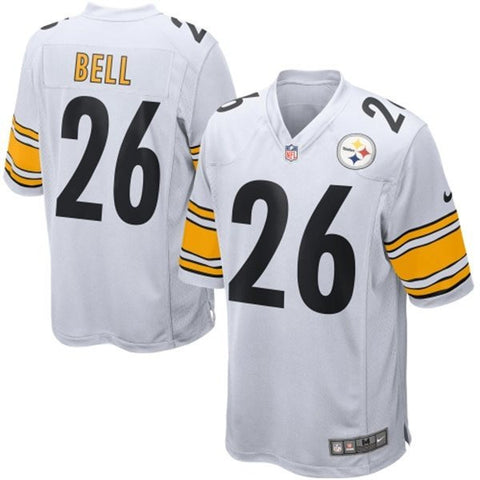 89225f6844d Le Veon Bell Pittsburgh Steelers Men s White Nike Elite jersey.   54.25 ·  Le Veon Bell Pittsburgh Steelers Black Jersey - Sports Nut Emporium