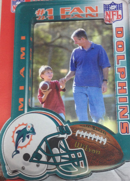 Miami Dolphins Magnetic photo/ picture frame - Sports Nut Emporium