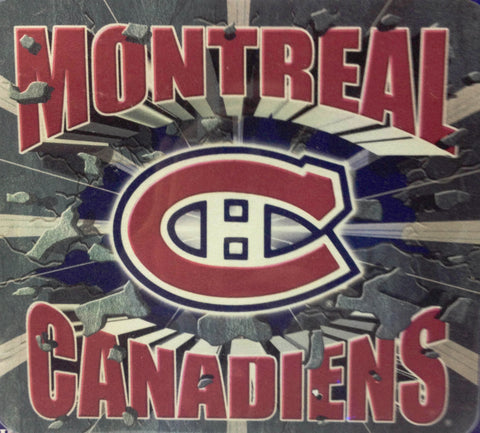 Montreal Canadiens NHL Hockey Mouse Pad - Sports Nut Emporium