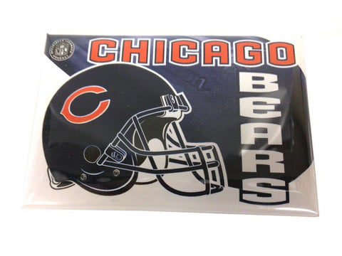 Chicago Bears rectangular button - Sports Nut Emporium