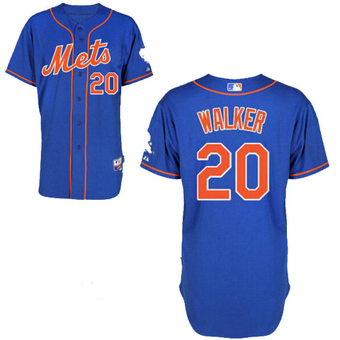 Neil Walker Blue Alternate Home Cool Base Stitched MLB Jersey - Sports Nut Emporium