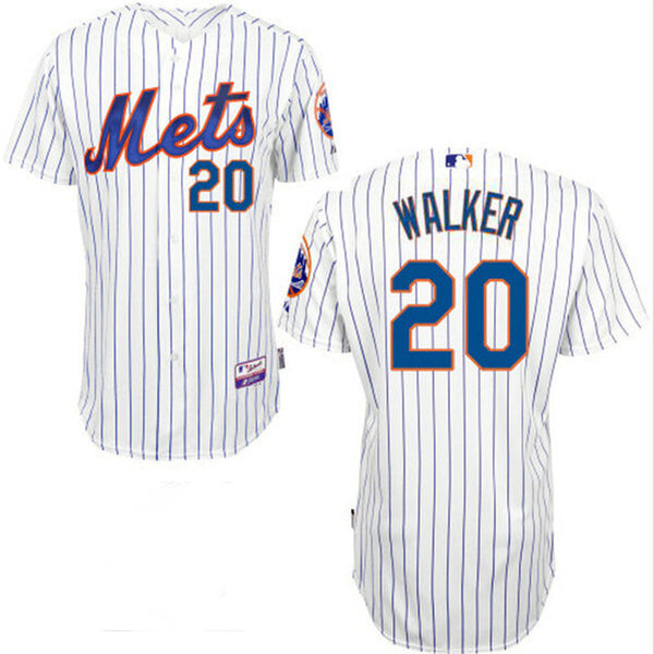 Neil Walker Cool Base New York Mets White Jersey - Sports Nut Emporium