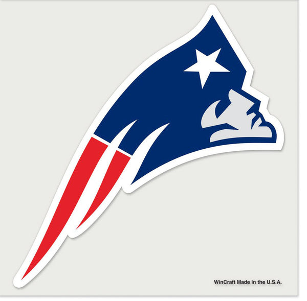 New England Patriots New Logo Ultra Decal - Sports Nut Emporium
