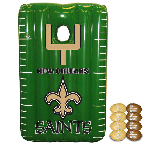 New Orleans Saints Inflateable Toss Game - Sports Nut Emporium