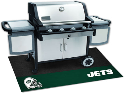New York Jets Barbeque Grill Mat - Sports Nut Emporium