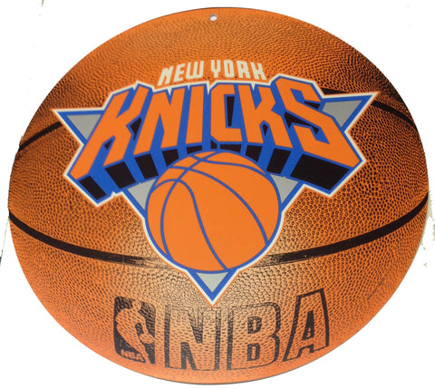 New York Knicks Basketball sign. - Sports Nut Emporium