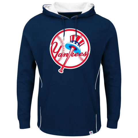 a56d5e767 New York Yankees Men s Majestic Navy Lefty Righty Pullover Hoodie