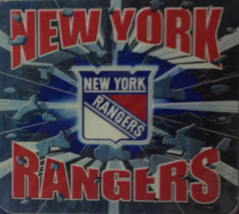 New York Rangers NHL Hockey Mouse Pad - Sports Nut Emporium