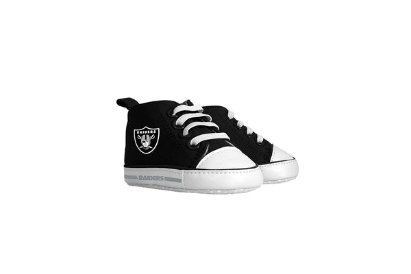 Oakland Raiders High Top Pre Walkers - Sports Nut Emporium