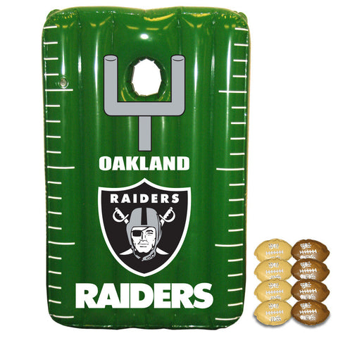 Oakland Raiders Inflateable Toss Game - Sports Nut Emporium