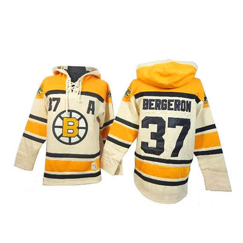 Patrice Bergeron Boston Bruins Pullover Hoodie - Sports Nut Emporium