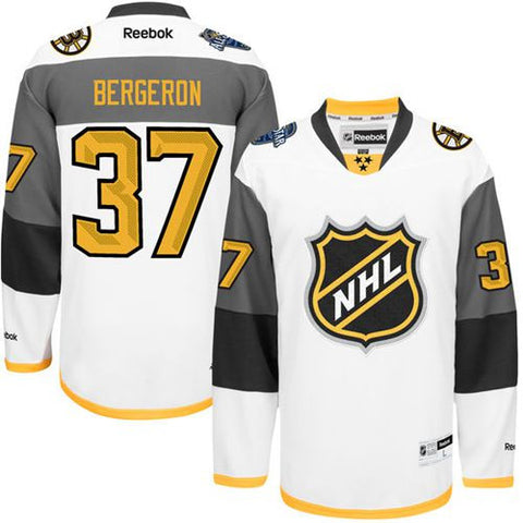 Patrice Bergeron White 2016 All Star Stitched NHL Jersey (SPECIAL ORDER) - Sports Nut Emporium
