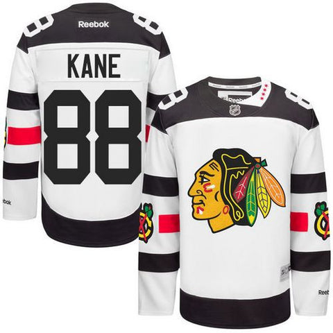 Patrick Kane White 2016 Stadium Series Stitched NHL Jersey - Sports Nut Emporium
