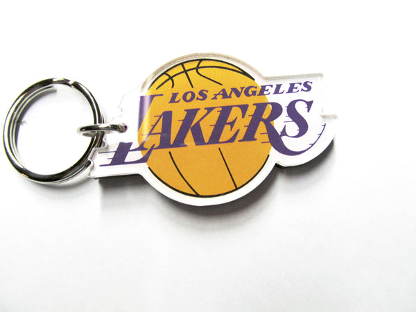 Los Angeles Lakers Premium acrylic key ring - Sports Nut Emporium
