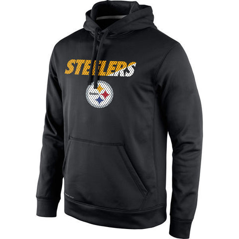 Pittsburgh Steelers Black Pullover  Mens Sweatshirt - Sports Nut Emporium