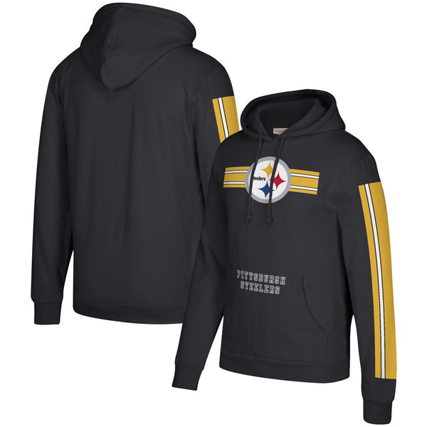 Pittsburgh Steelers Gridiron Pullover Hoodie Sweatshirt - Sports Nut Emporium