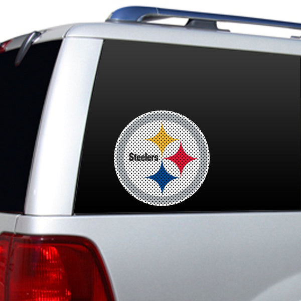 Pittsburgh Steelers Large Window Decal - Sports Nut Emporium