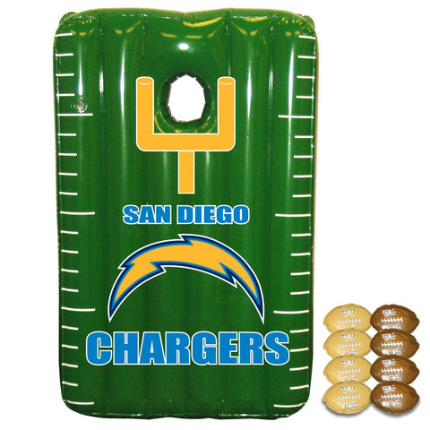 San Diego Chargers Inflateable Toss Game - Sports Nut Emporium