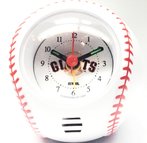 San Francisco Giants Travel Alarm Clock - Sports Nut Emporium