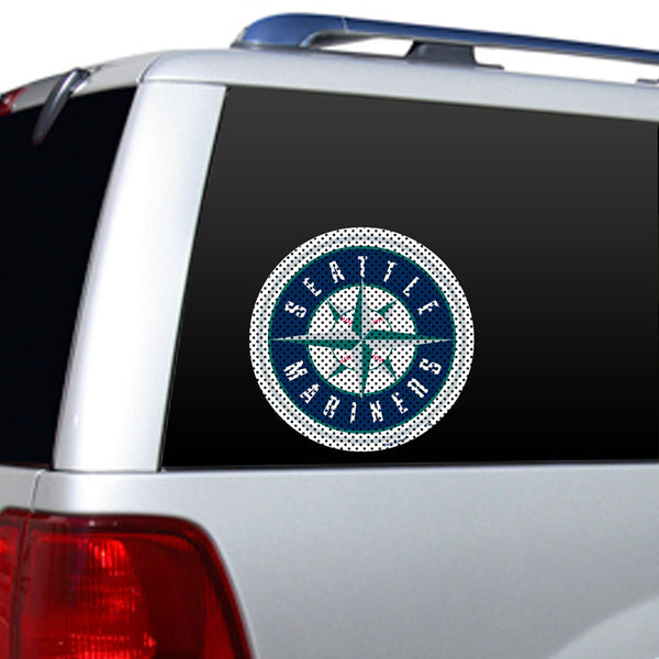 Seattle Mariners Large Window Film - Sports Nut Emporium