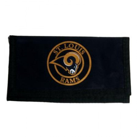 St Louis Rams nylon wallet - Sports Nut Emporium