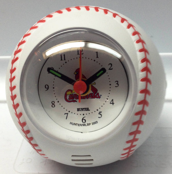 St Louis Cardinals Travel Alarm Clock - Sports Nut Emporium
