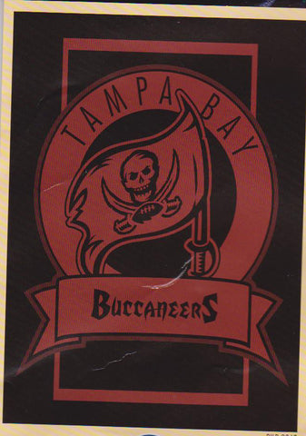 "Tampa Bay Buccaneers Crest Collection 60x50"" Blanket/Throw - Sports Nut Emporium"