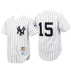 Thurman Munson New York Yankees  Cooperstown Collection Player Jersey - Sports Nut Emporium