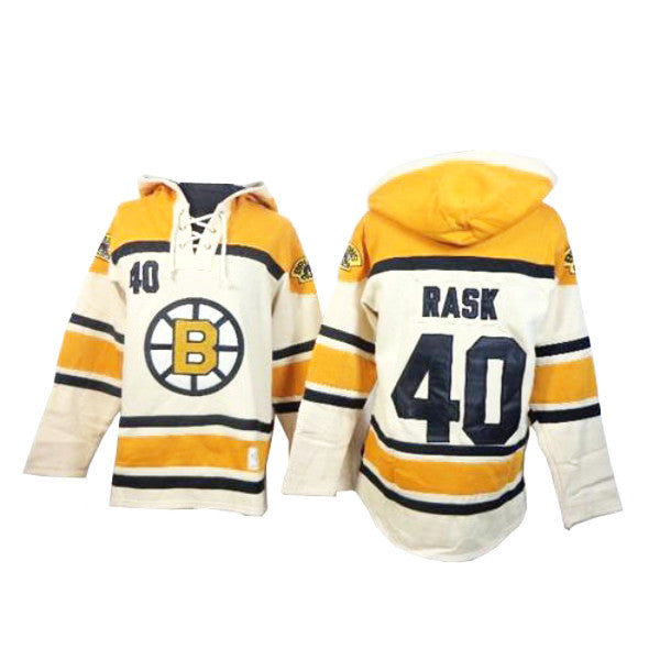 coupon for tuukka rask mens boston bruins cream nhl jersey sawyer hooded  sweatshirt 6aad1 b1ae2 9d7c1beb9
