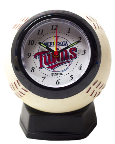 Minnesota Twins baseball shaped alarm clock - Sports Nut Emporium