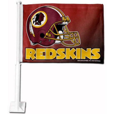 Washington Redskins NFL Car Flag - Sports Nut Emporium