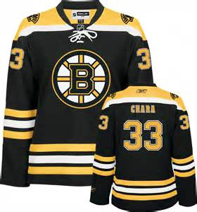 Zdeno Chara  # 33  Boston Bruins Stitched Black NHL  hockey Jersey - Sports Nut Emporium
