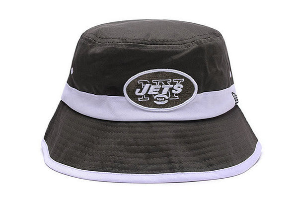 New York Jets New Era   Bucket Hat - Sports Nut Emporium