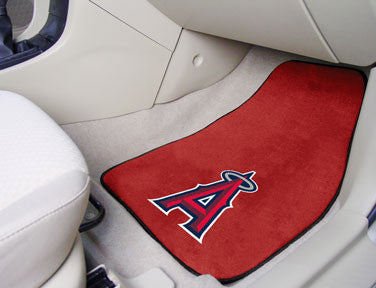 Los Angeles Angels carpet car mat - Sports Nut Emporium