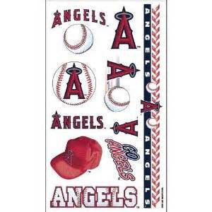 Los Angles Angels temporary tattoos - Sports Nut Emporium