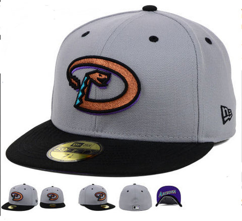 Arizona Diamondbacks New Era 59Fifty Under form fitted Hat - Sports Nut Emporium