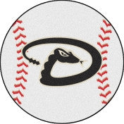 Arizona Diamondbacks baseball floor mat - Sports Nut Emporium