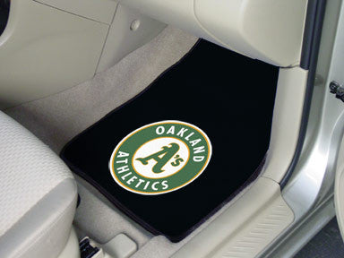 Oakland A's carpet car mat - Sports Nut Emporium