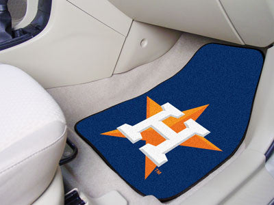 Houston Astros carpet car mat - Sports Nut Emporium