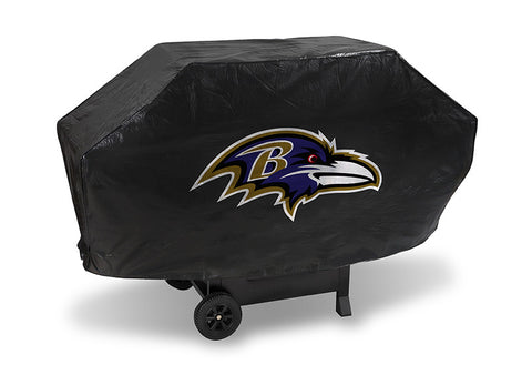 Baltimore Ravens Deluxe Barbaque Grill Cover - Sports Nut Emporium