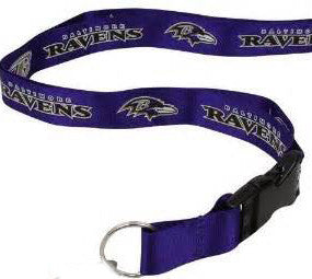 Baltimore Ravens Lanyard /Id Keyring holder - Sports Nut Emporium