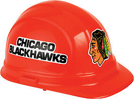 Chicago Blackhawks hard hat - Sports Nut Emporium