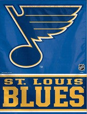 St Louis Blues vertical flag - Sports Nut Emporium